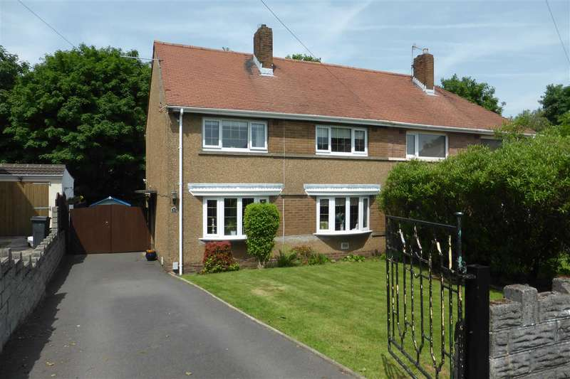 3 Bedrooms Semi Detached House for sale in 24 Coombe Tennant Avenue, Skewen, Neath