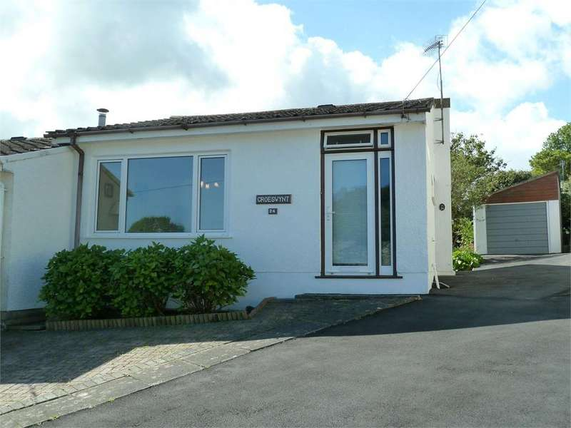 2 Bedrooms Semi Detached Bungalow for sale in The Moorings, St Dogmaels, Cardigan, Pembrokeshire