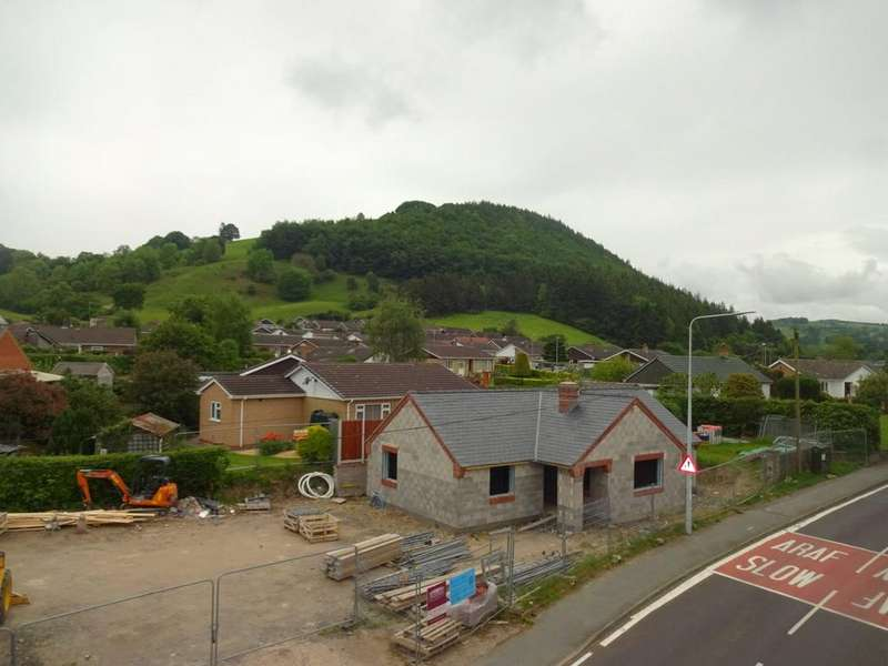2 Bedrooms Detached Bungalow for sale in Plot Opposite Dolforgan Lodge, Kerry, Newtown, Powys