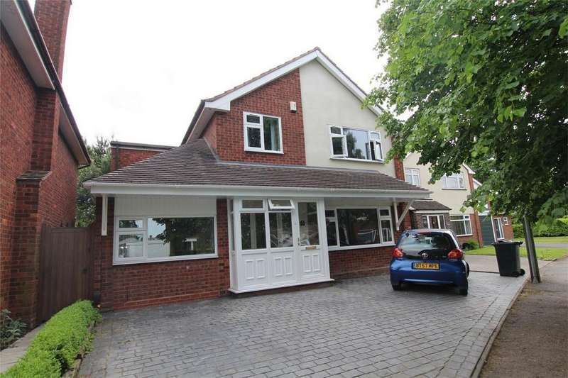 5 Bedrooms Detached House for sale in Anson Avenue, Lichfield, Staffordshire