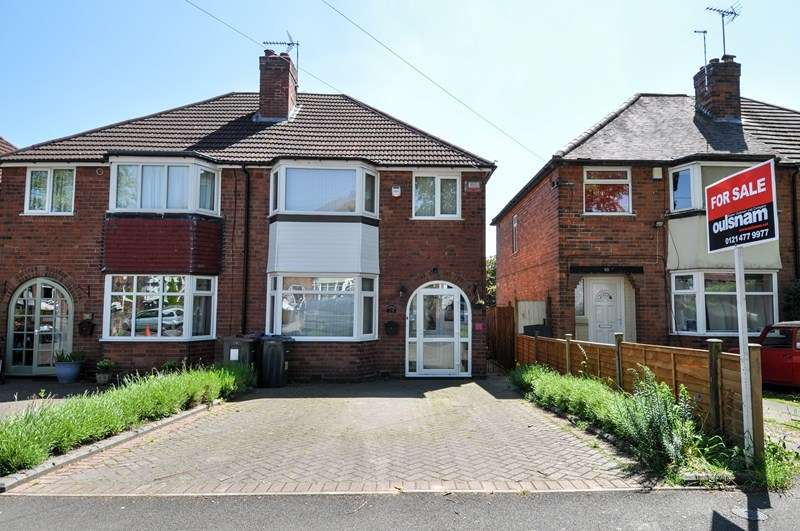 3 Bedrooms Semi Detached House for sale in Mavis Road, Northfield, Birmingham