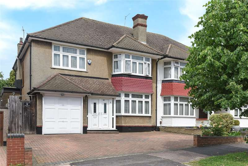 4 Bedrooms Semi Detached House for sale in Jesmond Way, Stanmore, Middlesex, HA7