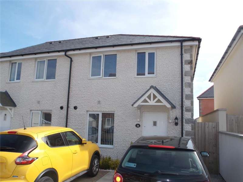2 Bedrooms Semi Detached House for sale in Penwethers Crescent, Truro