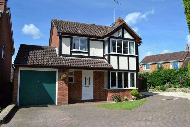 4 Bedrooms Detached House for sale in Icknield Drive, West Hunsbury, Northampton NN4 9YS
