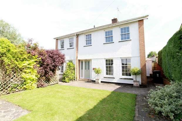 4 Bedrooms Detached House for sale in Ridgeways, Usk Road, Caerleon, NEWPORT