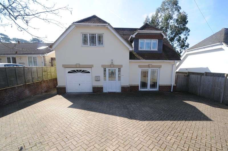 4 Bedrooms Detached House for sale in Elgin Road, Lilliput, Poole
