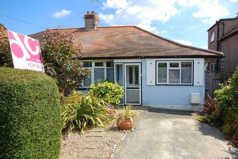 2 Bedrooms Semi Detached Bungalow for sale in Glenbervie Drive, Beltinge, Herne Bay