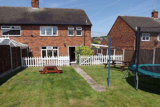 3 Bedrooms Semi Detached House for sale in Chediston Vale, Bestwood Park, Nottingham, NG5