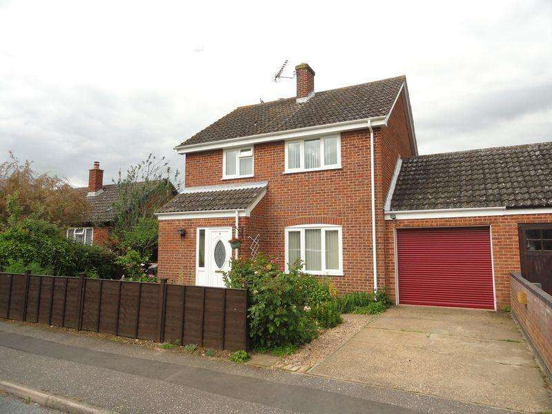 3 Bedrooms Link Detached House for sale in Manor Close, Hockering, Dereham