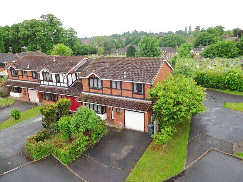 4 Bedrooms Detached House for sale in Clares Court, Kidderminster DY11 6YX