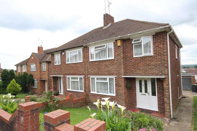 3 Bedrooms Semi Detached House for sale in Grampian Way, Sundon Park, Luton, LU3