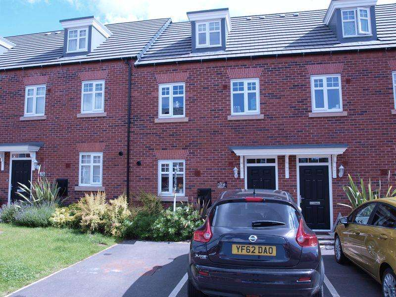 3 Bedrooms Terraced House for sale in Roberts Court, Winnington, CW8 4ZR