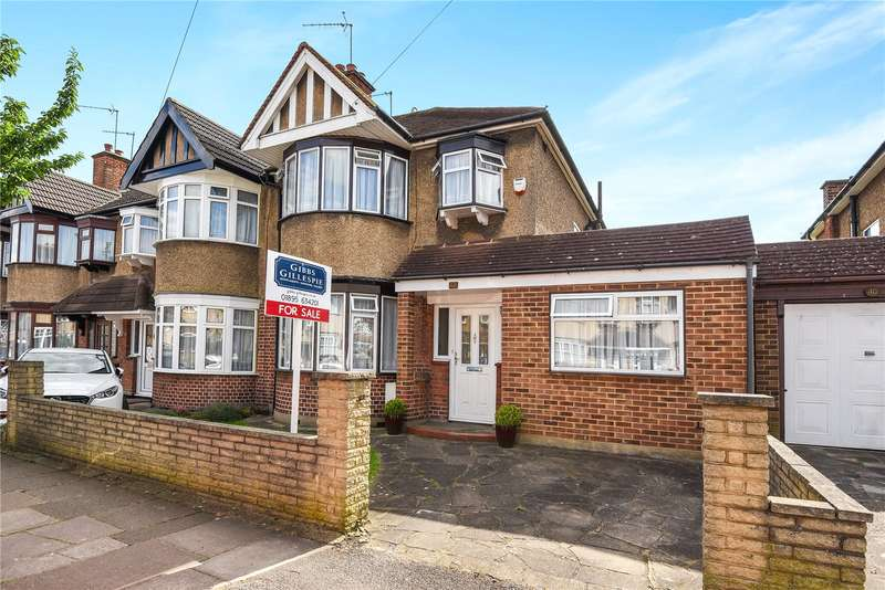 3 Bedrooms End Of Terrace House for sale in Dartmouth Road, Ruislip, Middlesex, HA4