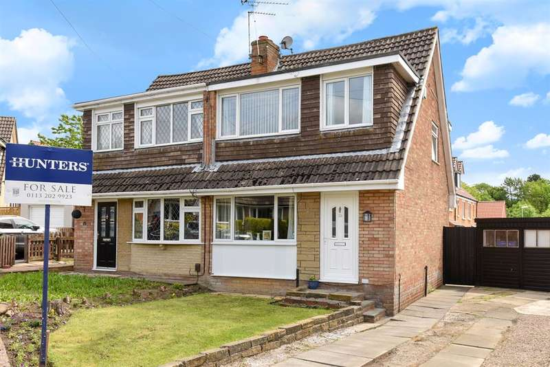 3 Bedrooms Semi Detached House for sale in Greenlea Fold, Yeadon, Leeds, LS19 7JJ