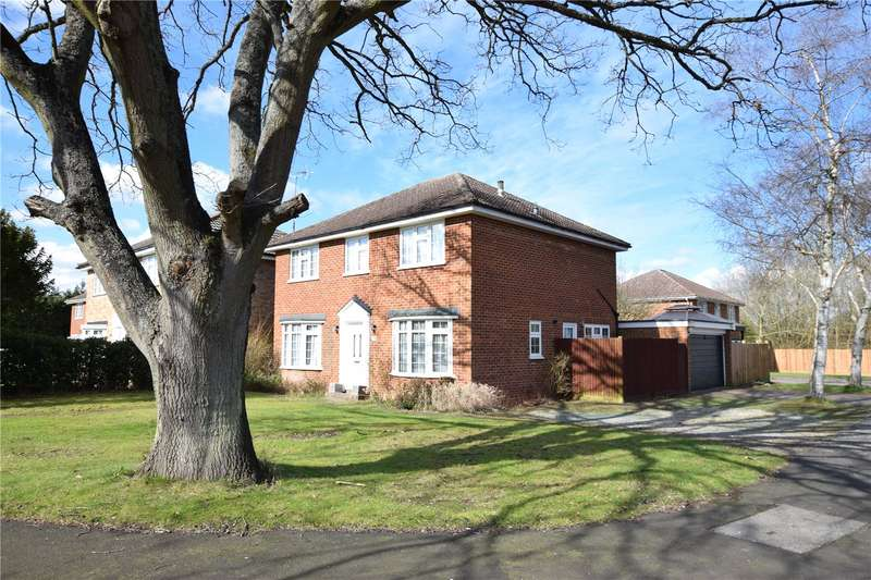 4 Bedrooms Detached House for sale in Old Farm Drive, Bracknell, Berkshire, RG12