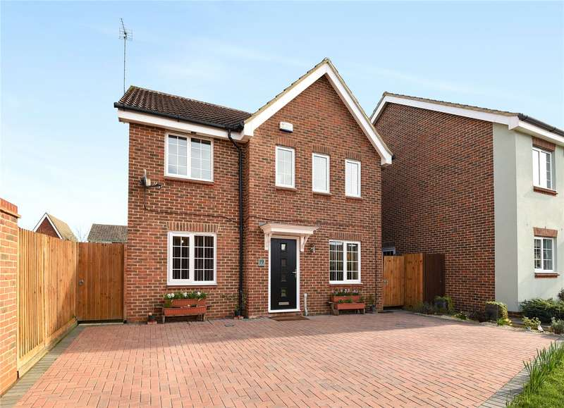 4 Bedrooms Detached House for sale in Dexter Way, Winnersh, Wokingham, Berkshire, RG41