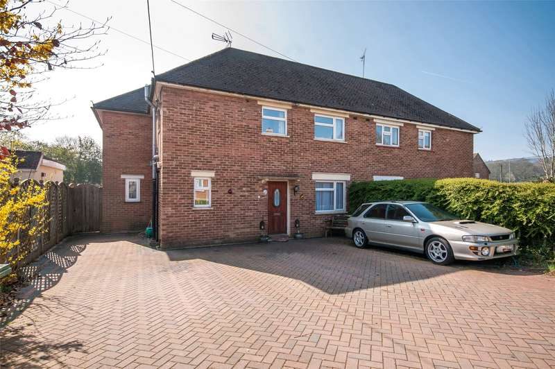4 Bedrooms Semi Detached House for sale in Warwick Close, Holmwood, Dorking, Surrey, RH5