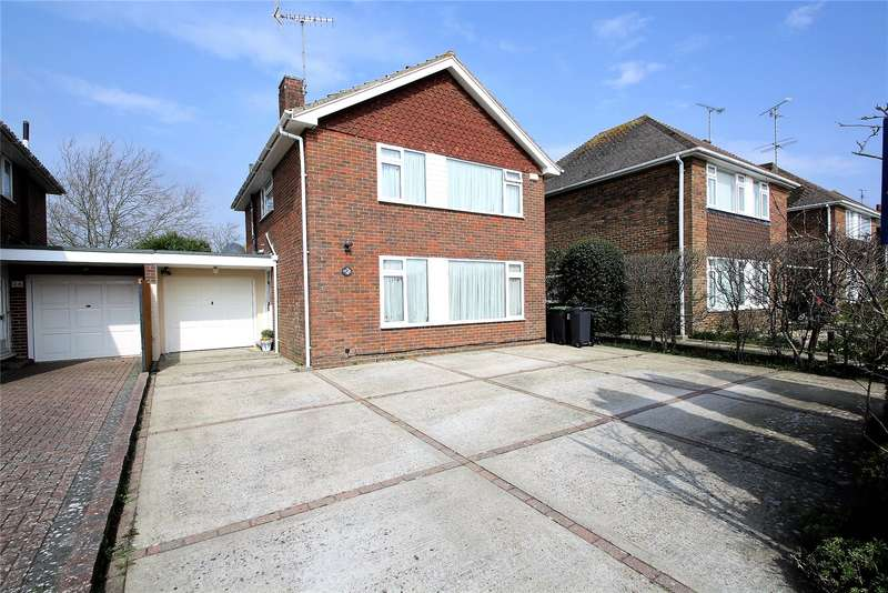 3 Bedrooms Link Detached House for sale in Cumberland Avenue, Goring By Sea, Worthing, BN12