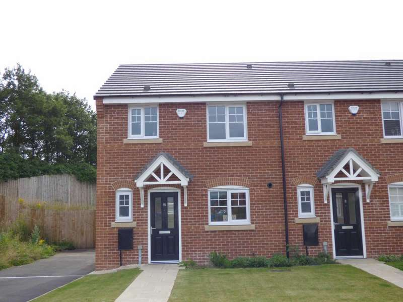 3 Bedrooms End Of Terrace House for sale in Gort Way, Heywood, Lancashire, OL10