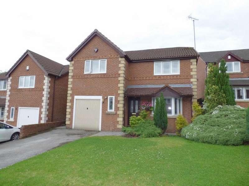 4 Bedrooms Detached House for sale in Hillstone Avenue, Shawclough, Rochdale, Lancashire, OL12