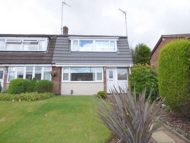 3 Bedrooms Semi Detached House for sale in Whitworth Road, Rochdale, Lancashire, OL12