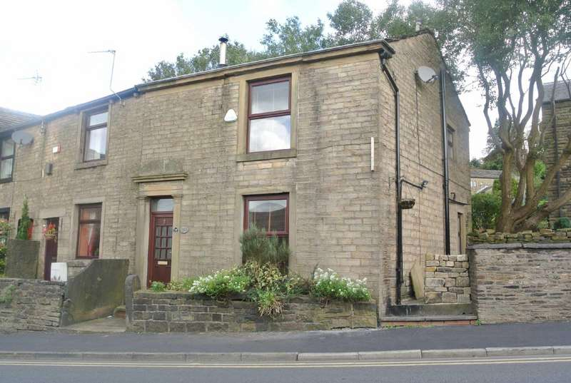 2 Bedrooms End Of Terrace House for sale in Huddersfield Road, Austerlands, Saddleworth, OL4