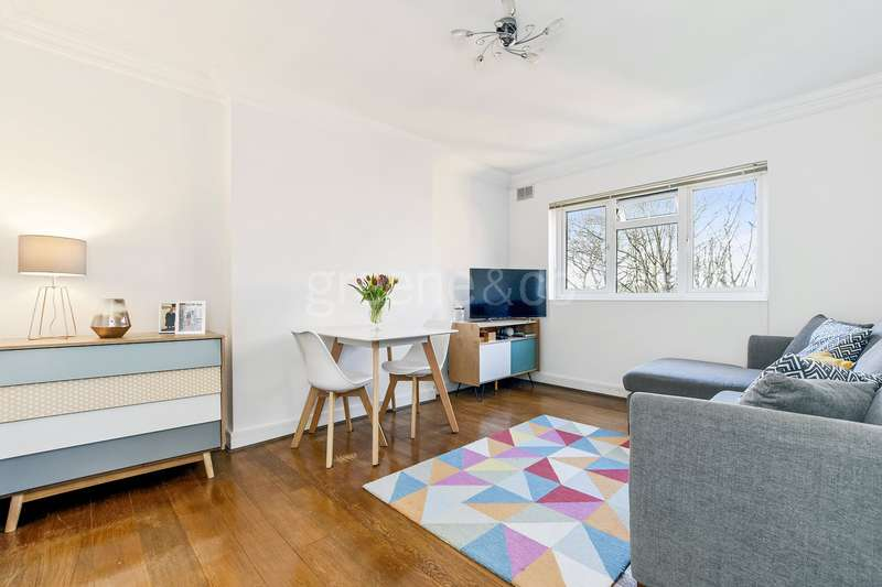 1 Bedroom Flat for sale in Alyn Court, Crescent Road, London, N8