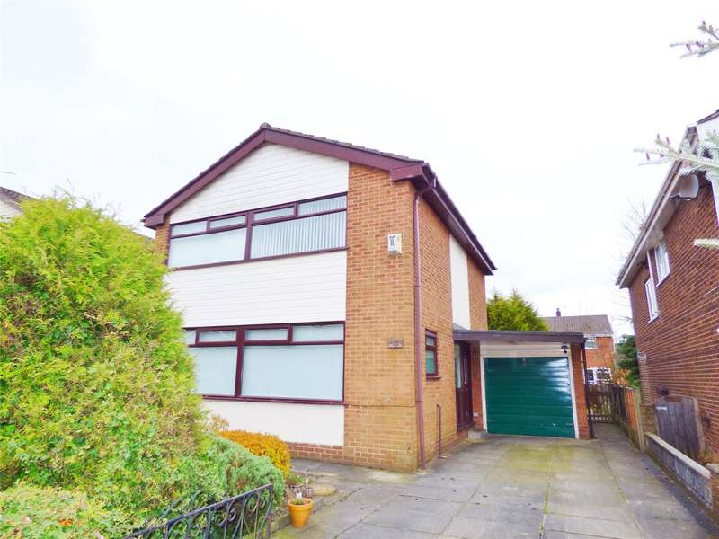 3 Bedrooms Detached House for sale in Sunningdale Drive, Hopwood, Heywood, Lancashire, OL10
