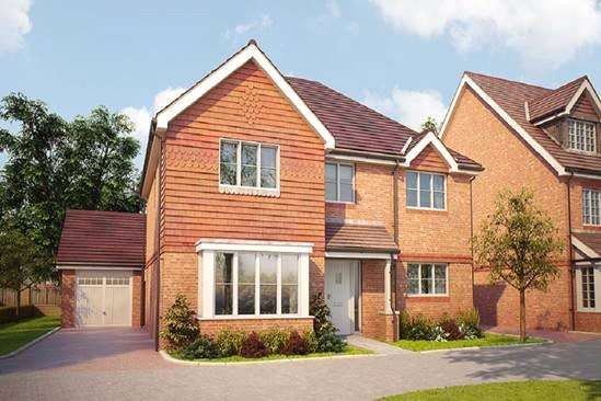 5 Bedrooms House for sale in The Esher, Bagshot Road, Knaphill, Surrey, GU212RN