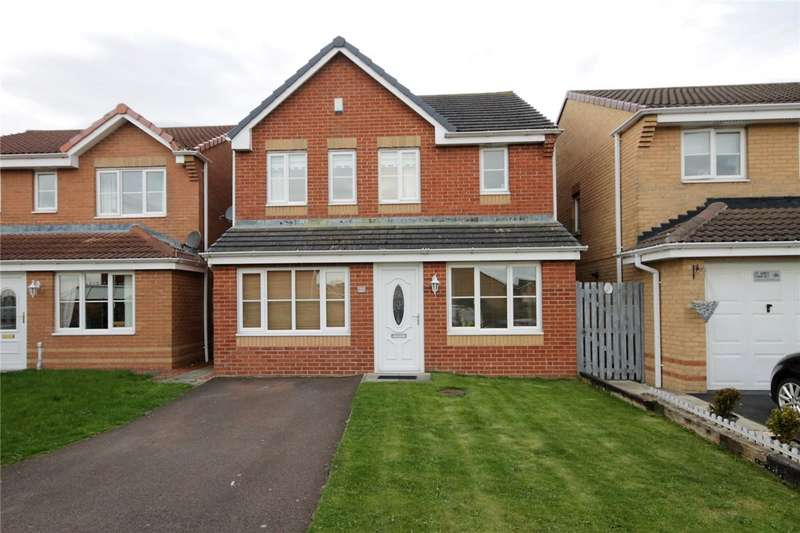 3 Bedrooms Detached House for sale in Holwick Close, Templetown, Consett, DH8