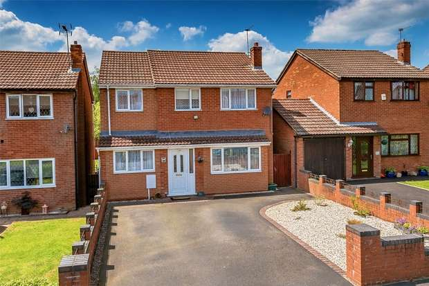 5 Bedrooms Detached House for sale in 33 Yew Tree Grove, Highley, BRIDGNORTH, Shropshire
