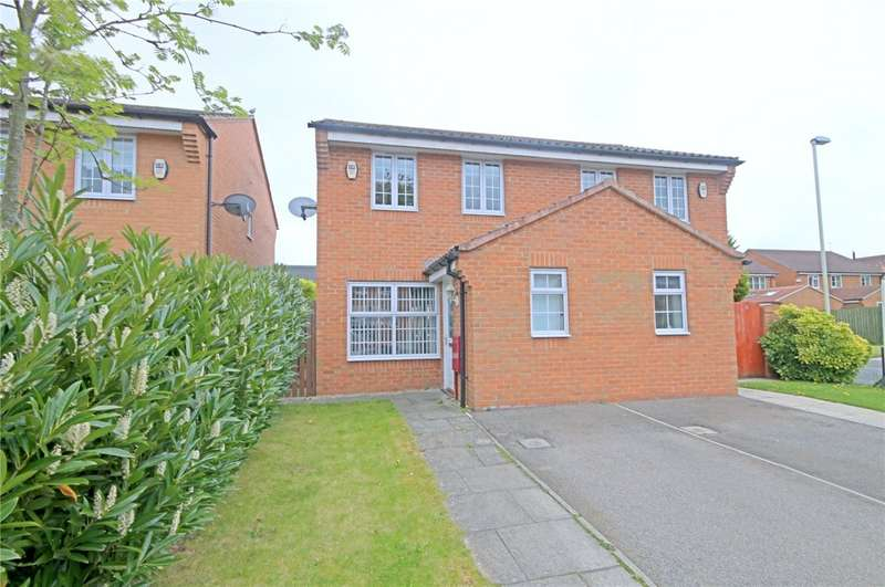 3 Bedrooms Semi Detached House for sale in Cypress Grove, School Aycliffe, Newton Aycliffe, DL5