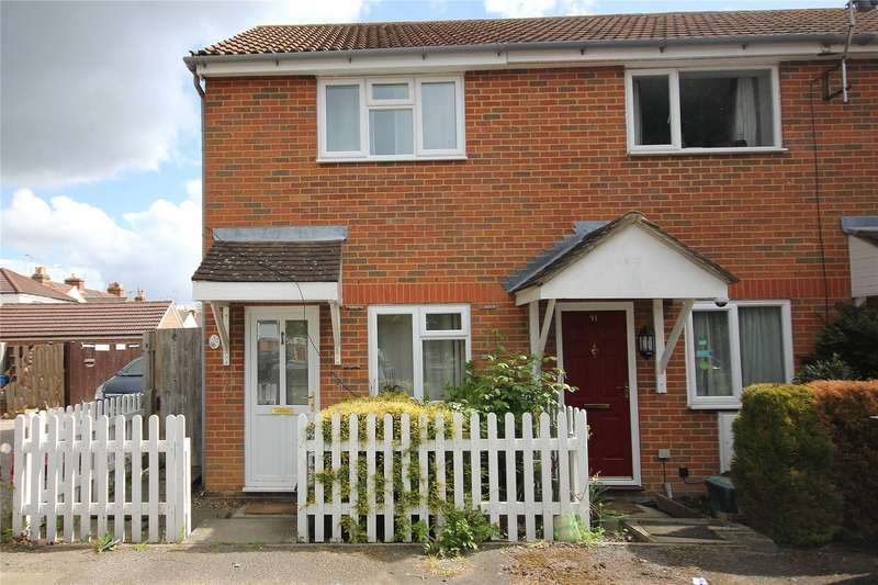1 Bedroom End Of Terrace House for sale in Courtenay Mews, North Road, Woking, Surrey, GU21