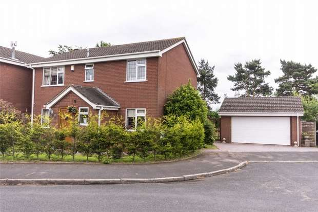 4 Bedrooms Detached House for sale in Darnford Moors, Lichfield, Staffordshire