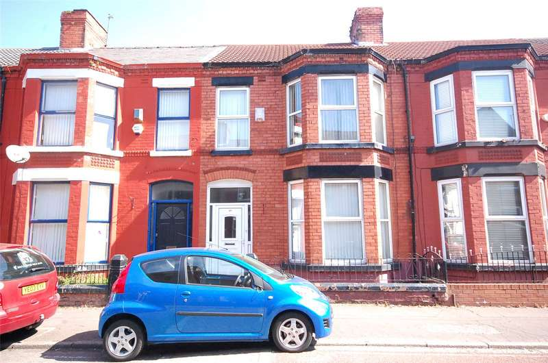 4 Bedrooms Terraced House for sale in Garmoyle Road, Wavertree, Liverpool, L15