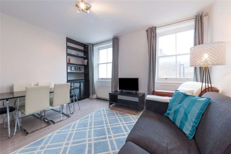 2 Bedrooms Apartment Flat for sale in Cleveland Street, London, W1T