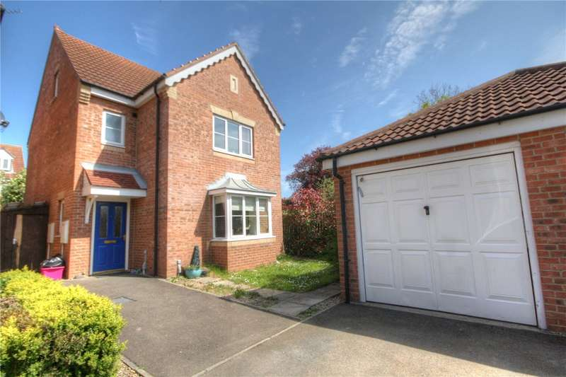 4 Bedrooms Detached House for sale in Neile Court, Bracks Farm, Bishop Auckland, DL14