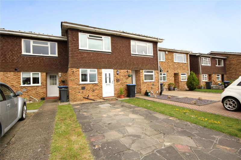 2 Bedrooms Terraced House for sale in Aymer Drive, Staines-upon-Thames, Surrey, TW18