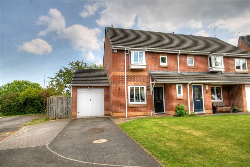 3 Bedrooms Semi Detached House for sale in Brantwood, Chester Le Street, Co Durham, DH2