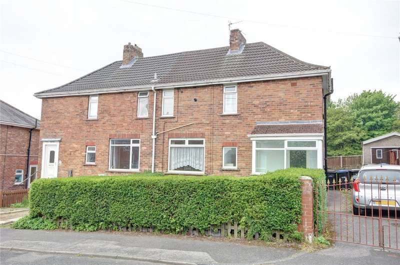 3 Bedrooms Semi Detached House for sale in College View, Esh Winning, Durham, DH7
