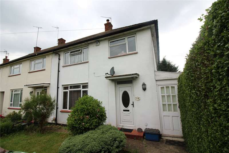 3 Bedrooms End Of Terrace House for sale in Stangate Crescent, Borehamwood, Hertfordshire, WD6