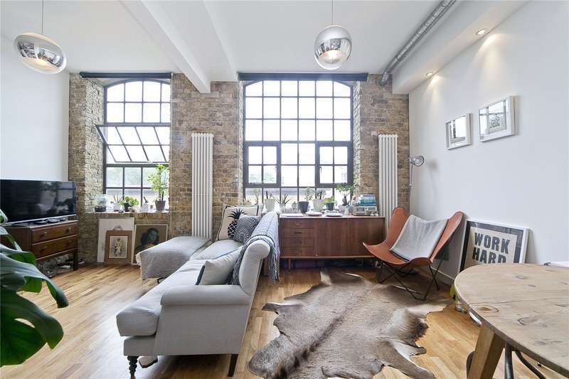 2 Bedrooms Flat for sale in Gunmakers Lane, Bow, E3