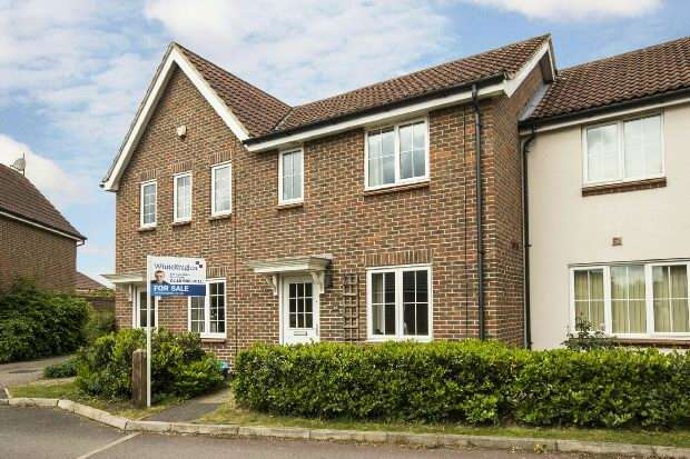 2 Bedrooms Terraced House for sale in Beatty Rise, Spencers Wood