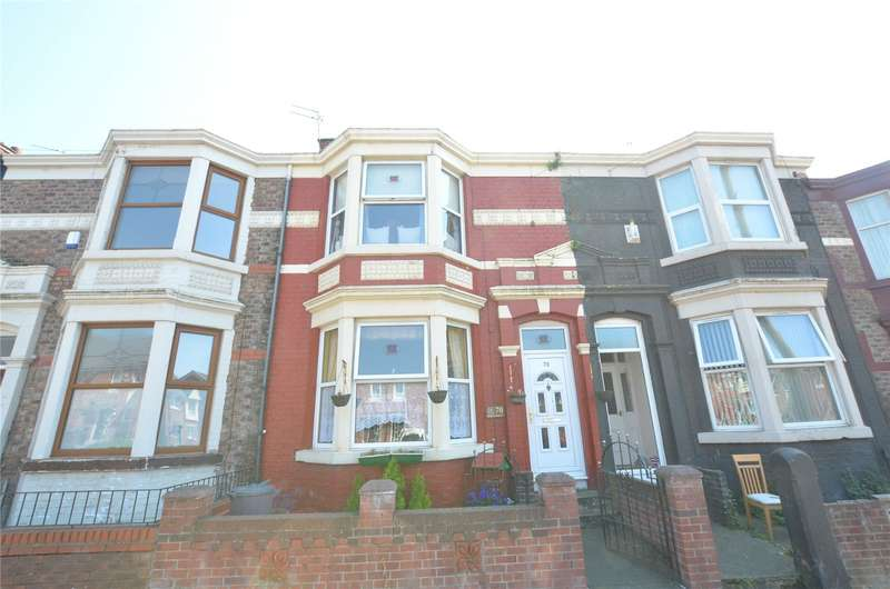 3 Bedrooms Terraced House for sale in Keble Road, Bootle, Merseyside, L20
