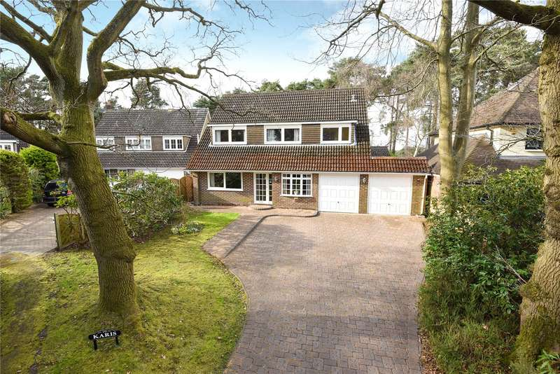 4 Bedrooms Detached House for sale in Diamond Hill, Camberley, Surrey, GU15