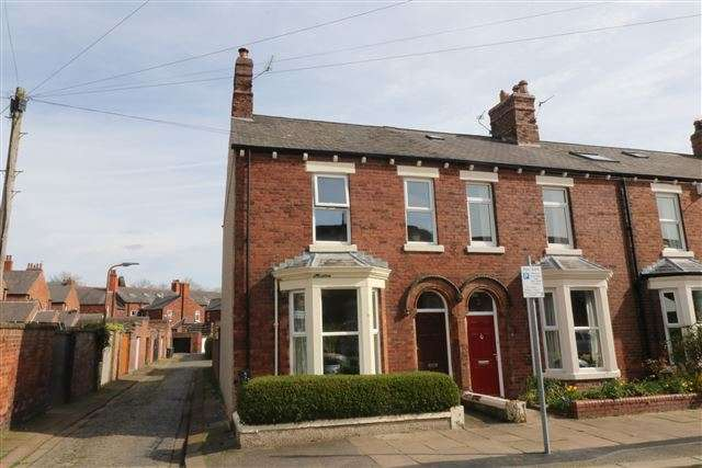 2 Bedrooms End Of Terrace House for sale in River Street, Carlisle, Cumbria, CA1 2AL