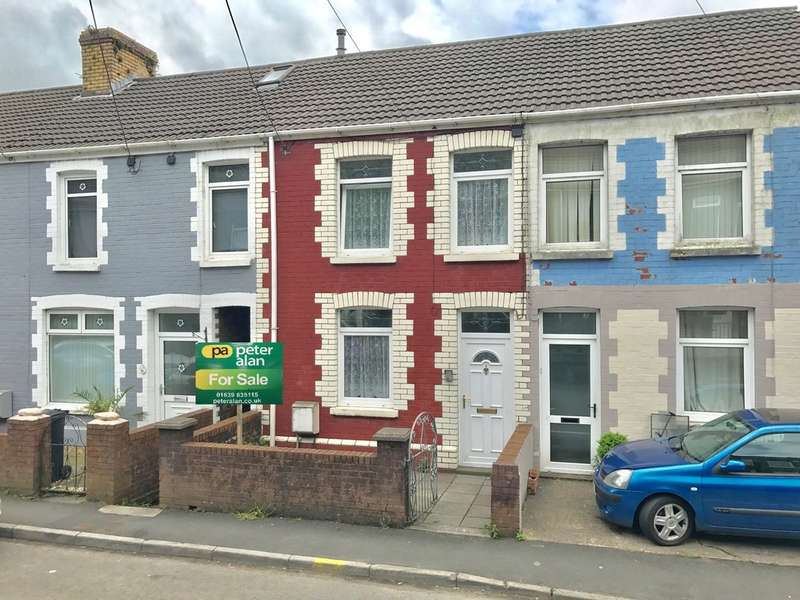 2 Bedrooms Terraced House for sale in Morgans Terrace, Pontrhydyfen, Port Talbot