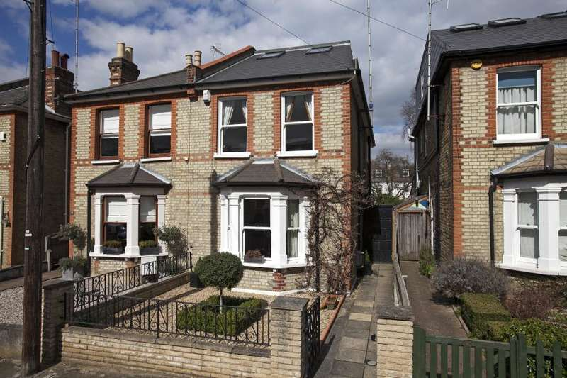 5 Bedrooms Semi Detached House for sale in Wyndham Road, Kingston upon Thames, KT2