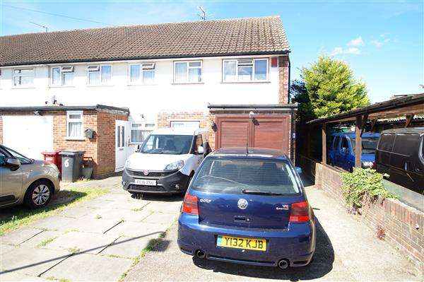 3 Bedrooms End Of Terrace House for sale in Bridge Close, Cippenham