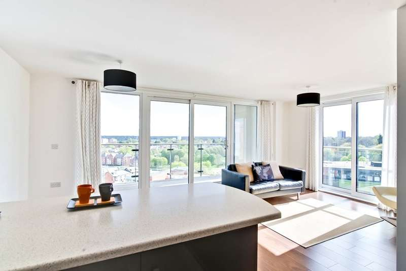 2 Bedrooms Flat for sale in Mason Way, Park Central, Edgbaston, B15 2GE